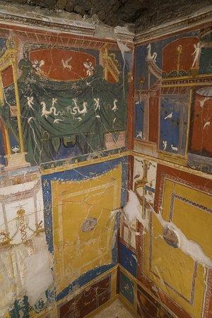Restored frescos