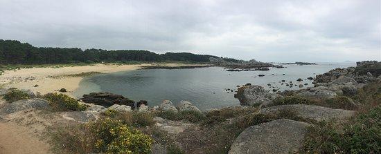Vista de la Playa Borreiro (Oeste de San Vicente)