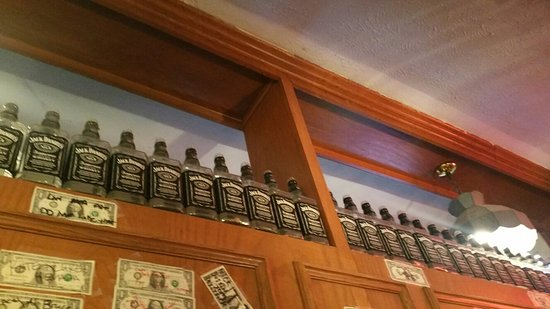 Bucks Bar & Grill: Jack Daniels Bottle Collection