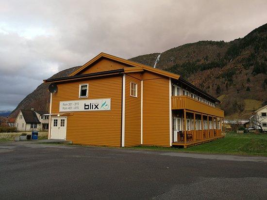 Vikoyri, Norway: У каждого номера есть свой балкон