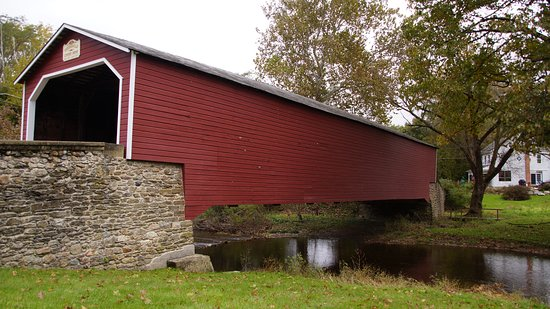 ‪Kreidersville Covered Bridge‬