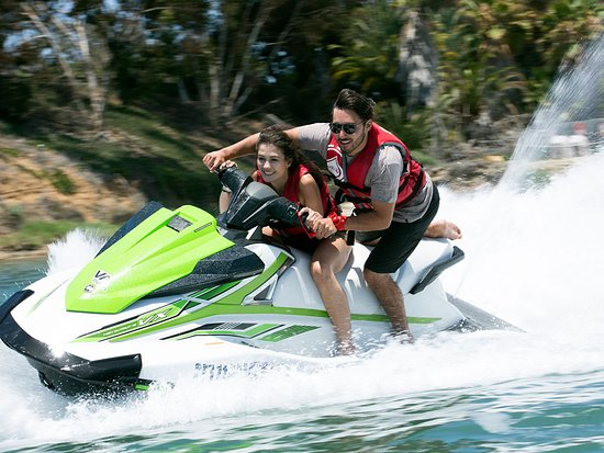 Carlsbad, CA: Take a Jet Ski out into the ocean
