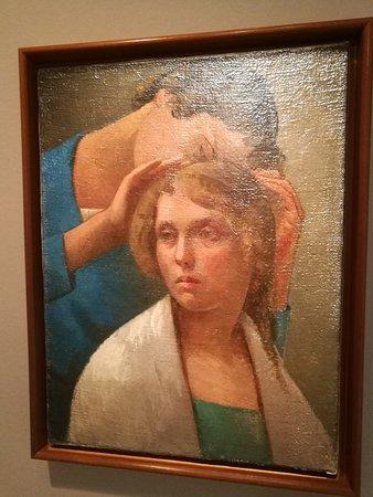 Dos mujeres, Julio González.