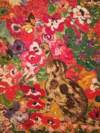 Fragmento de macizo de flores en un jardín de Provenza, Louis Valtat.