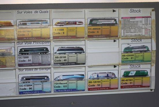 Musee du Rail Modelisme Chatenoyen: Première maquette, les détails, c'est fabuleux !