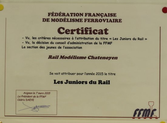 Musee du Rail Modelisme Chatenoyen: Les juniors du rail