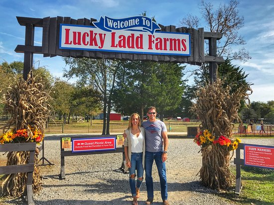 Entrance Picture Of Lucky Ladd Farms Eagleville Tripadvisor