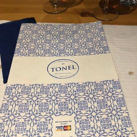 O Tonel: Amazing food