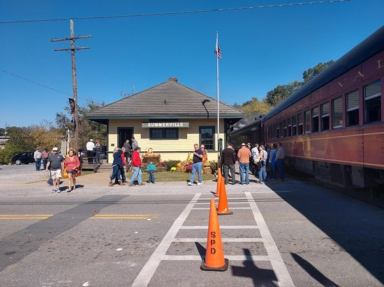 Historic Summerville Train Depot & Turntable