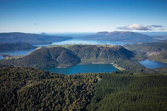 15-minutters krater søer flyvning ved...