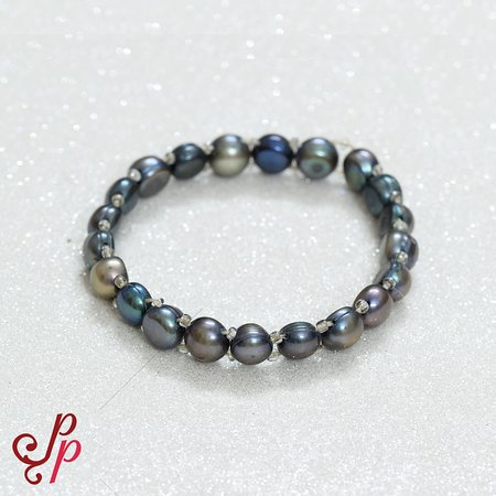 Freshwater Pearl Bracelets in Various colours.