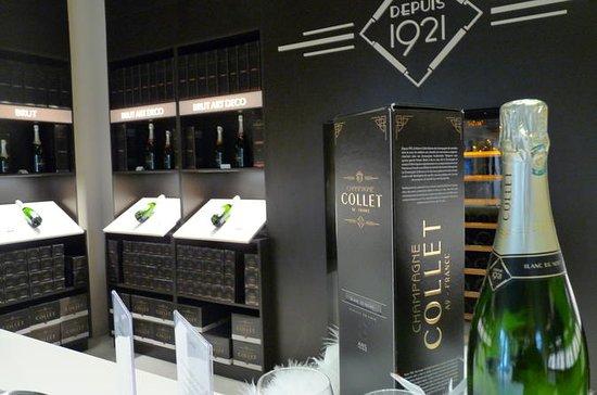 En dag i Champagne: vingård...