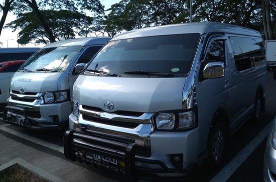 Shared transfer: El Nido to Puerto Princesa Airport Van