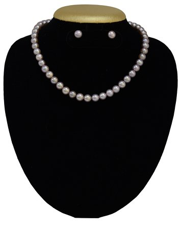 Exclusive Pearl Necklace set online from pure pearls india
