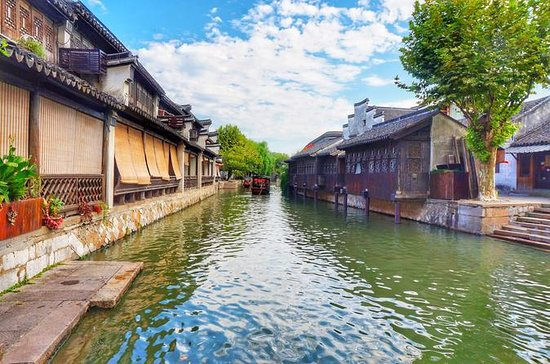上海からの1日のNanxun Water Townツアー
