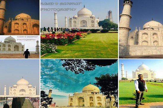 Samme dag Agra tur med bil