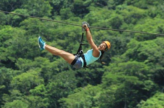 All pvr tours - Ziplining departing...