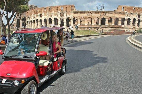Best of Rome dagtour door een golfkar ...