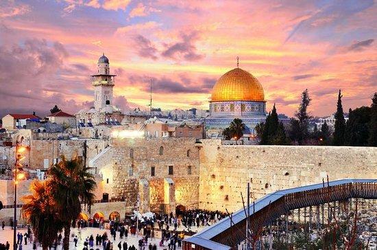 Aller-retour privé de l'aéroport Ben Gurion de Tel Aviv à la ville de...