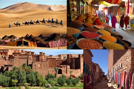 From Marrakech To Shara Morocco