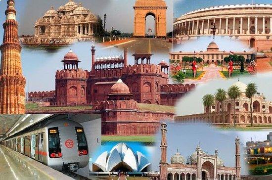 Excursão privada no mesmo dia em Delhi...