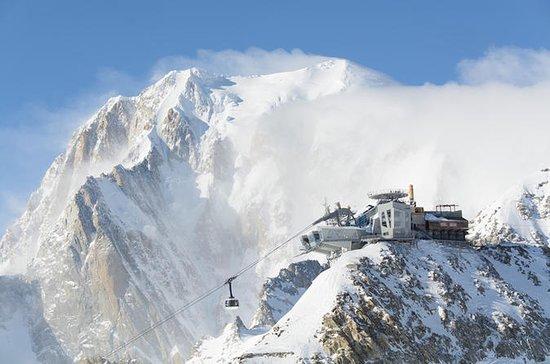 Monte Bianco und Courmayeur...