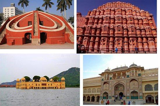 Personlig hel dag Jaipur tur med lunsj...