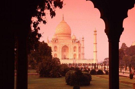 Excursão pelo mesmo dia no Taj Mahal a...