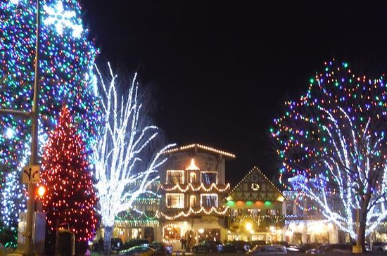 Kerstverlichting Leavenworth