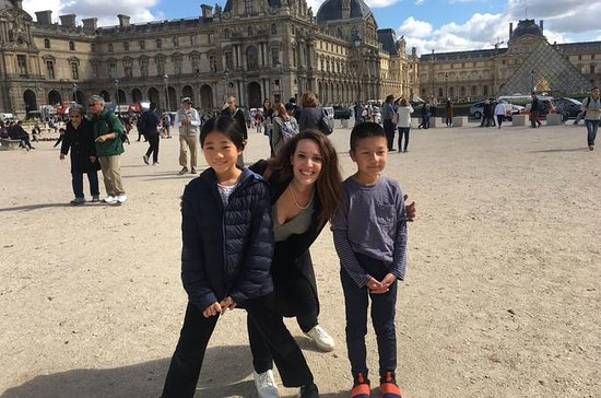 Private Louvre Museum Tour for Kids...