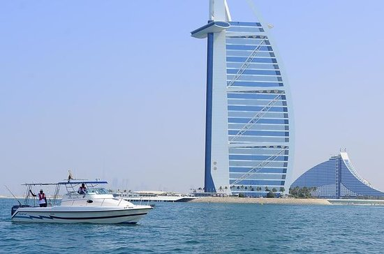 Burj Al Arab & Atlantis Tour on Private boat: Bruj Al Arab & Atlantis Tour on Private boat