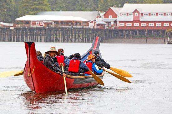 Expérience en canot tlingit et culture