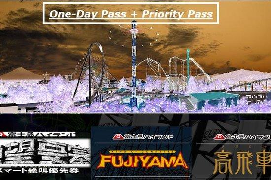 特別イベント!富士Qハイランド1日パス、優先パス2018秋季