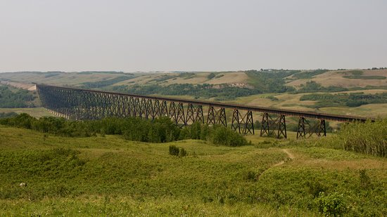 Wainwright, Kanada: Battle River Trestle Bridge