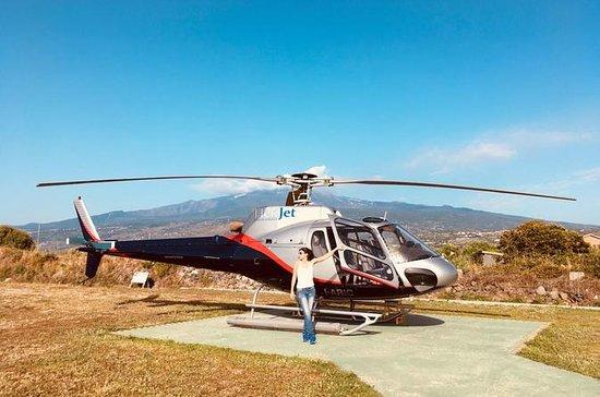 Le Tour en hélicoptère auf dem Ätna