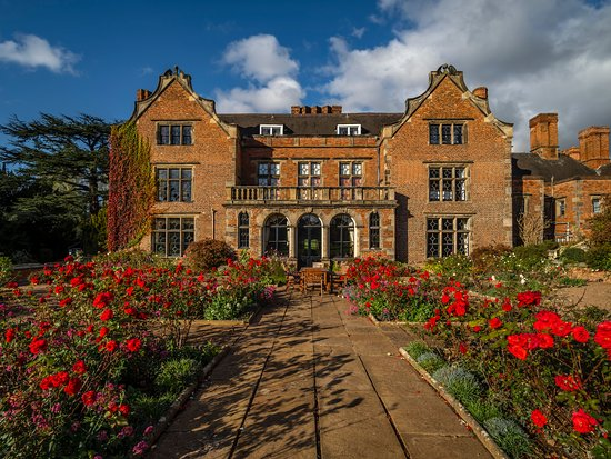 Thrumpton, UK: Hall Gardens & wonderful flowers