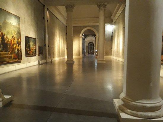 Teatro Farnese: Sale della mostra