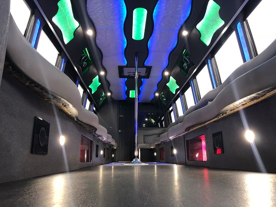 Plainfield, IL: 30 PASSENGER PARTY BUS WITH BATHROOM