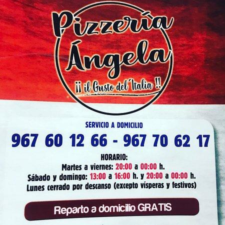"""Pizzeria Angela il Gusto Dell""""italia: Carta"""