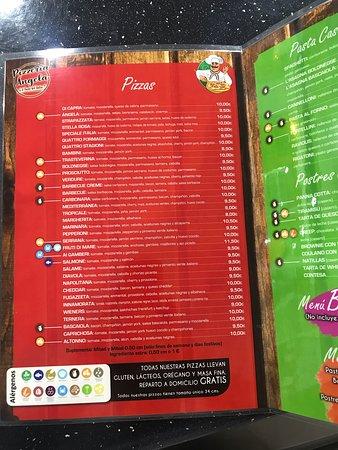 """Pizzeria Angela il Gusto Dell""""italia: Pizzas"""