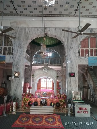 Sinside Gurudwara Dashmesh Asthan Nahan