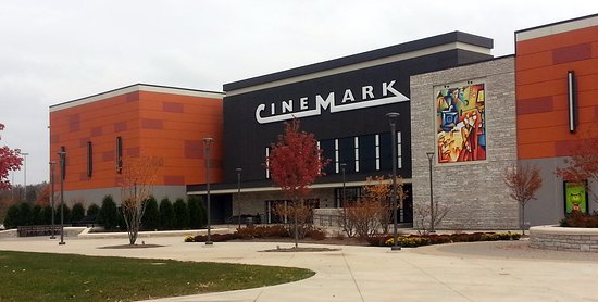 West Dundee, IL: front of Cinemark Theatre in the SpringHill Mall