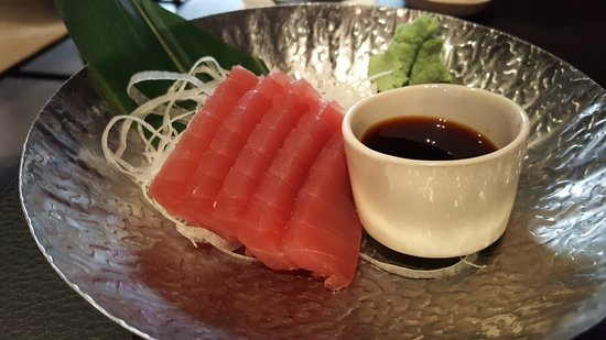 Sticks'N'Sushi Covent Garden: Tuna sashimi