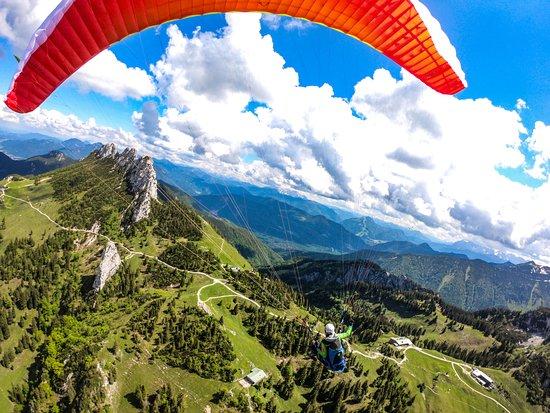 Tandemfliegen Chiemgau dein Perfektes Flugerlebnis