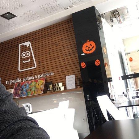 Sao Romao, Portugal: Um ótimo lugar para o café.