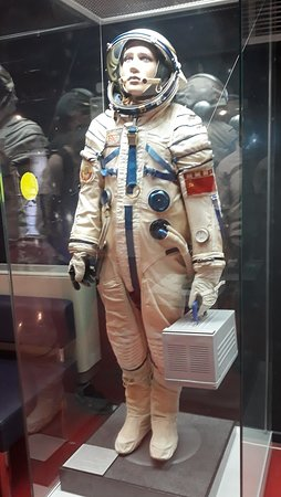 Russian cosmonaut uniform