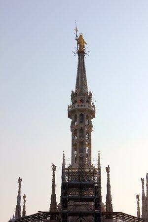 Dôme de Milan : Madonnina above Great Spire