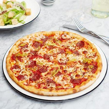 Pizza Express Manchester Menu Prices Restaurant