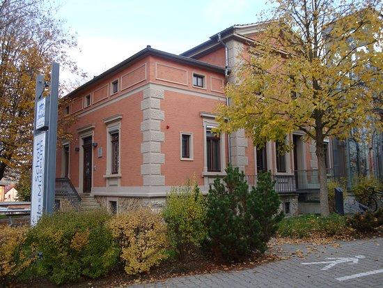 Jena, Germany: the house of the Schott-family