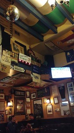 decor of the pub